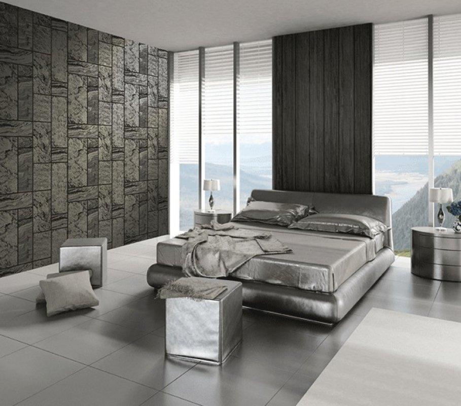Sypialnia w tapecie