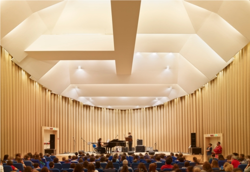 Paper Concert Hall, 2011, LAquila, Italy Photo by Didier Boy de la Tour