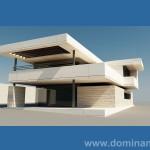 Projekt domu nowoczesny
